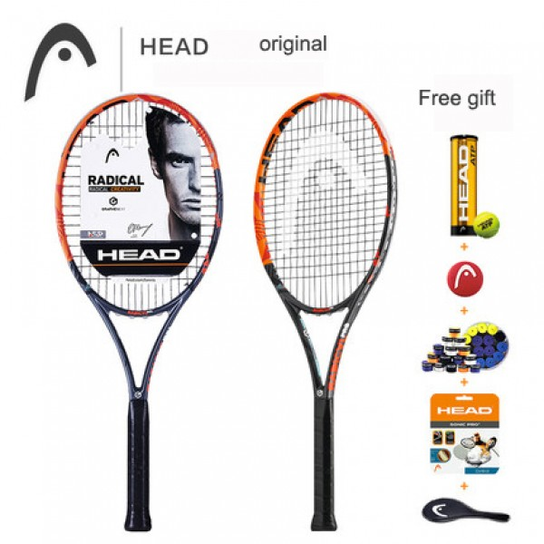 NEW HEAD PRO L4 MP tennis racket top quality  100% full carbon tennis racket  tenis Racket / Racquet Grip 4 1/4-4 3/8 (2#/Female