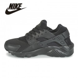 NIKE HUARACHE RUN GS Womens Anti-skid Wear Breathable Sweat Suction Outdoor Running Sport Shoes # 654275-016