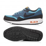 NIKE Original Breathable Air Max 1 Men's Running Shoes Sneakers Blue Red and Yellow