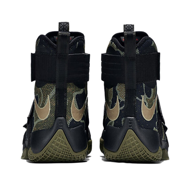 5a815c91f8c NIKE Original LEBRON SOLDIER 10 Men s Cool Camouflage Basketball Shoes  Sneakers
