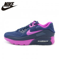 NIKE Original New Arrival AIR MAX 90 Womans Running Shoes Breathable Comfortable Outdoor Sneakers For Women#844600-400
