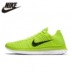 NIKE Original New Arrival NIKE FREE RN FLYKNIT Womens Running Shoes Breathable Professional Sneakers For Women #842546-700