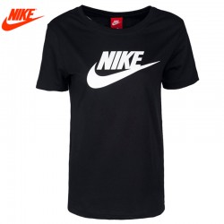 NIKE Original Nova Chegada 2017 Verão Camisetas de manga curta Sportswear das Mulheres Respiráveis