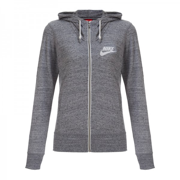 NIKE GYM VINTAGE FZ HOODY Women's Knitted Jacket Hooded sportswear free shipping