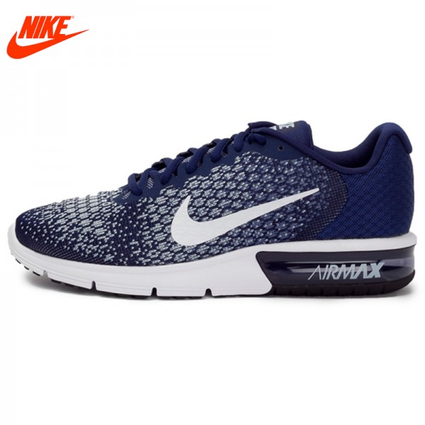 New Arrival 2017 Original NIKE Breathable AIR MAX SEQUENT 2 Men's Running Shoes Sneakers