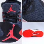 Nike AIR Jordan Shoes RISING Men's Basketball Flyknit Nike Air Max jordan shoes #844065-006