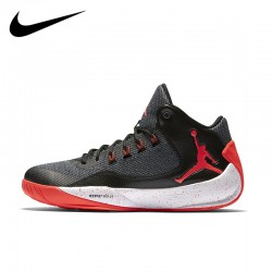Nike AIR Jordan Shoes RISING Men's Basketball Flyknit Nike Air Max jordan shoes #844065-006