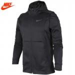 Nike homens inverno manter quente com capuz jaqueta de sportswear 800038-677-010