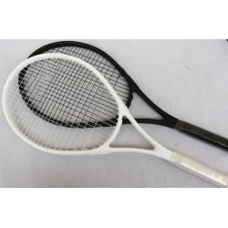 No Brand Logo Tennis Racket Carbon Aluminum Alloy Tennis Racquets Pure Simple Style Racquete De Tenis Hand-Painted Custom Tenis