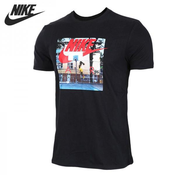 Nova chegada original 2017 nike como m nsw tee ar híbrido foto homens camisetas de manga curta sportswear