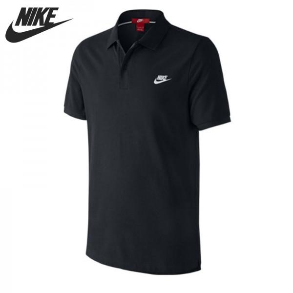 Nova chegada original nike dos homens camisa polo de manga curta sportswear