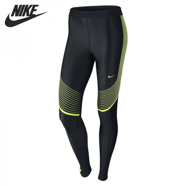 Nova chegada original nike poder velocidade apertado calças sportswear das mulheres