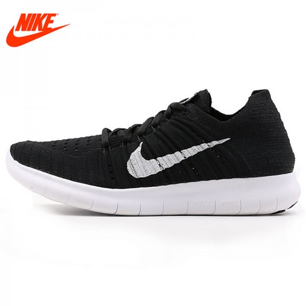 Official NIKE New Arrival Spring FREE RN FLYKNIT Women's Running Shoes Sneakers