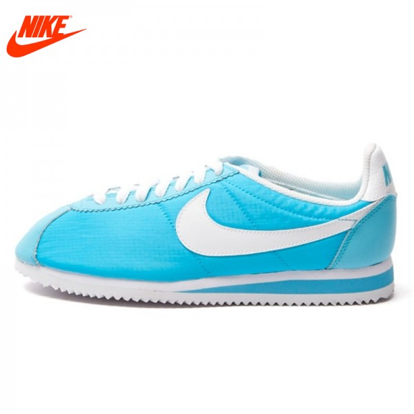 Official Nike Breathable WMNS CLASSIC CORTEZ NYLON Skateboarding Shoes sneakers