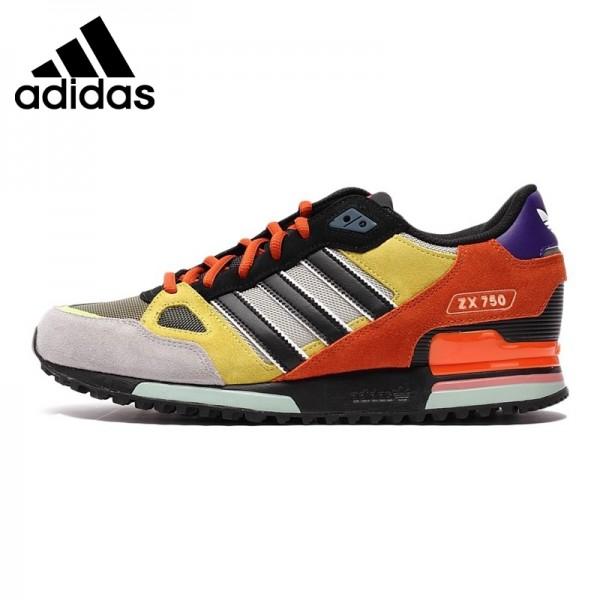 Original Adidas Originals ZX men and women Skateboarding Shoes AF6292/AF6293  Unisex sneakers