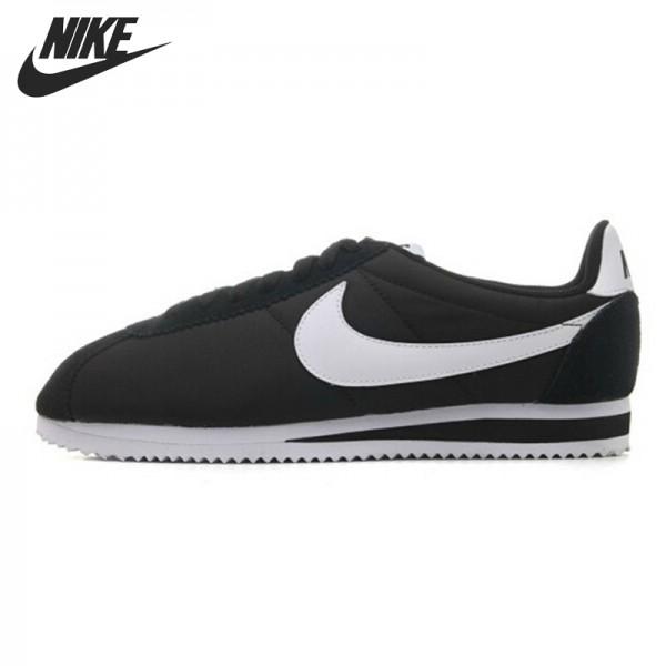 Original   Nike CLASSIC CORTEZ NYLON men's Skateboarding Shoes 532487-091-604-403 Low to help sneakers