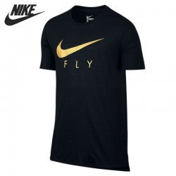 Original  NIKE FLY DROPTAIL TEE Men's T-shirts  short sleeve Sportswear