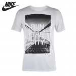 Original  NIKE men's Printed T-shirts short sleeve Sportswear