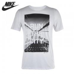 Original  NIKE men's Printed T-shirts short sleeve Sportswear