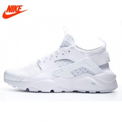 Original NIKE 2017 Summer AIR HUARACHE RUN ULTRA Men's Running Shoes Sneakers