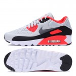 Original NIKE AIR Breathable MAX 90 ULTRA SE Men's Cushioning Running Shoes Sneakers Grey and White