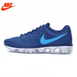 Original NIKE AIR MAX Men's Whole palm cushion Running Shoes Breathable Sneakers Blue