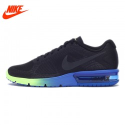Original NIKE AIR MAX SEQUENT Men's Cushioning Running Shoes Sneakers with Colorful Sole