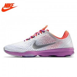 Original NIKE Breathable ZOOM FIT Women's Running Shoes Sneakers