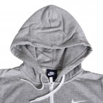 Original NIKE CLUB FT FZ HOODY-SWOOS Women's  Jacket Sportswear