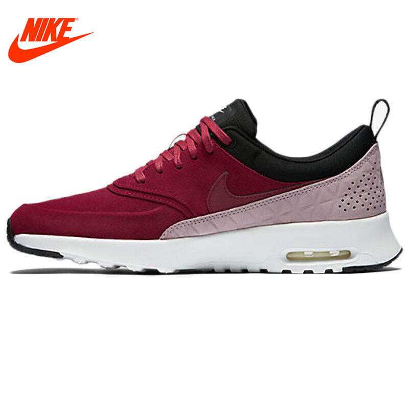 uk availability f051c 61431 Original NIKE Leather Waterproof AIR MAX THEA PRM LTH Women s Running Shoes  Sneakers