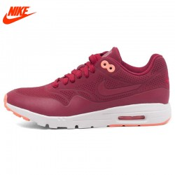Original NIKE New Arrival Authentic WMNS AIR MAX 1 ULTRA MOIRE Women's Running Shoes Sneakers