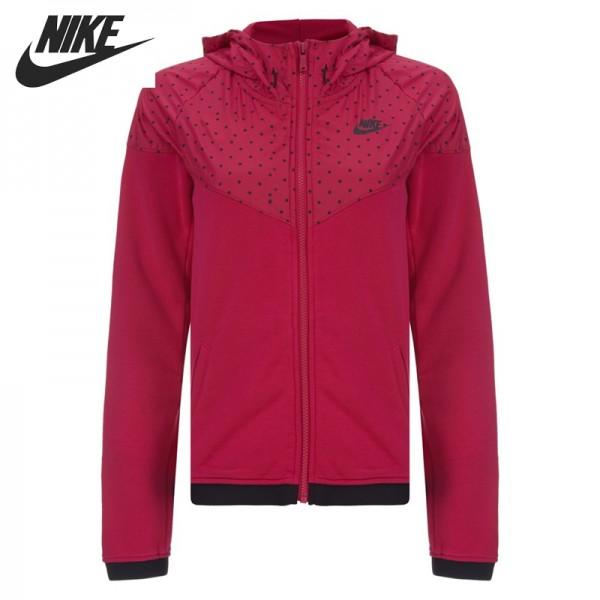 Original NIKE RU WR FINSHR OVRLY HDY Women's jackets Hooded Sportswear