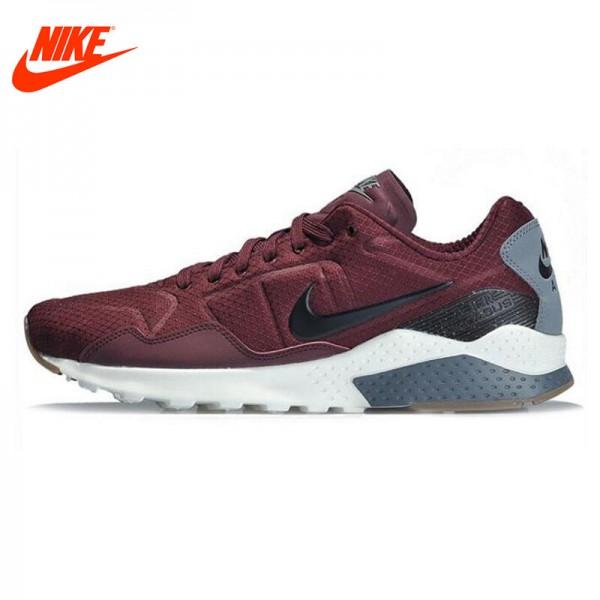 Original NIKE ZOOM PEGASUS 92 Men's Running Shoes Sneakers Black Grey Red