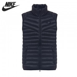 Original NIKE men's Down coat  Vest Warm down jacket sportswear