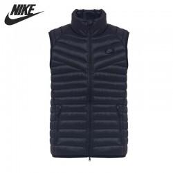 Original NIKE men's Down coat  Vest Warm down jacket sportswear
