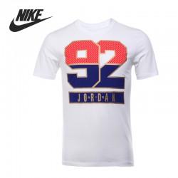 Original New Arrival  NIKE  AJ 7 92 TEE  Men's T-shirts  short sleeve Sportswear