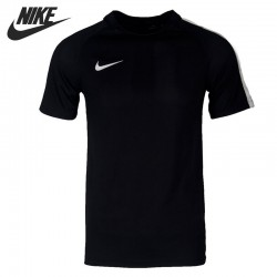 Original New Arrival  NIKE  M NK DRY TOP SS SQD  Men's  T-shirts  short sleeve Sportswear