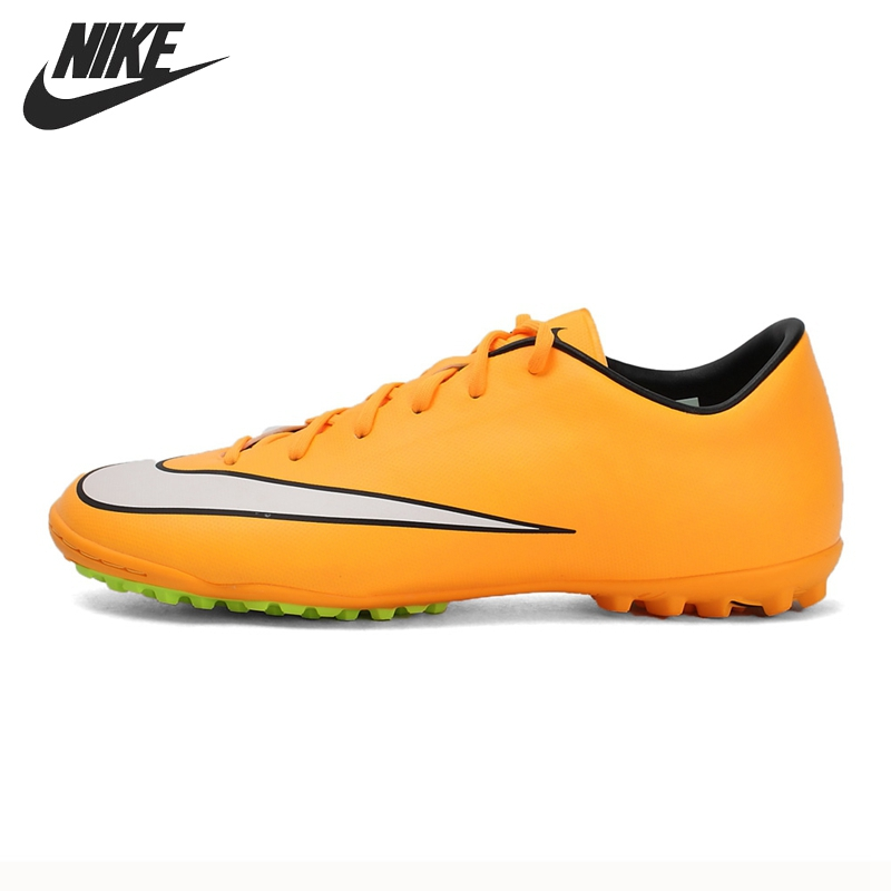 best cheap be5b0 e0a4d Original New Arrival NIKE MERCURIAL VICTORY V TF Men's Soccer Shoes  Football Sneakers