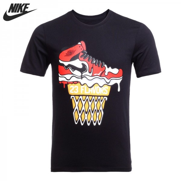 Original New Arrival  NIKE Basketball Men's T-shirts short sleeve Sportswear