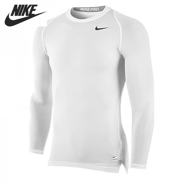 Original New Arrival  NIKE COOL COMP LS GC Men's T-shirts Long sleeve Sportswear
