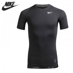 Original New Arrival  NIKE COOL COMP SS Men's Tights T-shirts Short Sleeve Sportswear