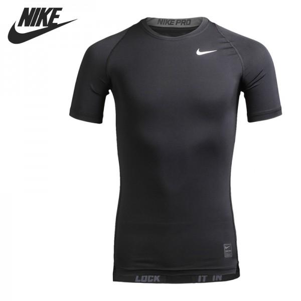 Original New Arrival  NIKE COOL COMP SS Men's Tights T-shirts Short Sleeve Sportswear