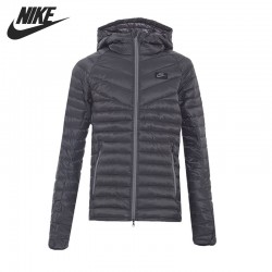 Original New Arrival  NIKE M NSW JKT HD DN FLL AOP GUILD Men's Down coat Hiking Down Sportswear
