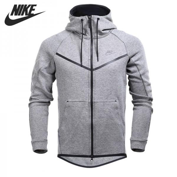 Original New Arrival  NIKE M NSW TCH FLC WR Men's  Jacket Hooded Sportswear