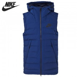 Original New Arrival  NIKE Men's Down coat Vest Warm down jacket Sportswear