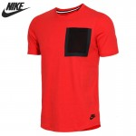 Original New Arrival  NIKE Men's T-shirts short sleeve Sportswear