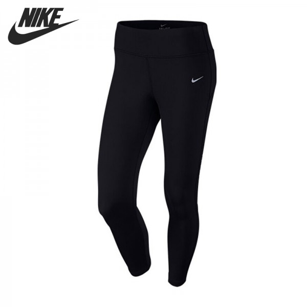 Original New Arrival  NIKE POWER EPIC LUX CROP Women's Tight Shorts Sportswear