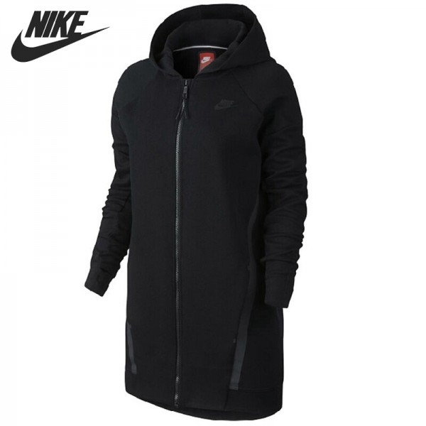 Original New Arrival  NIKE TECH FLEECE CCOON-MESH Women's Jacket Hooded Sportswear