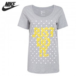 Original New Arrival  NIKE TEE-BF SHADOW DOT JDI  Women's  T-shirts short sleeve Sportswear