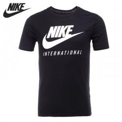 Original New Arrival  NIKE TEE-RU DOT INTL  Men's T-shirts short sleeve Sportswear